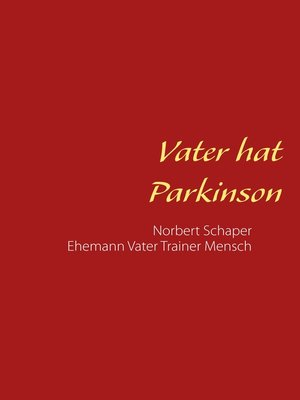 cover image of Vater hat Parkinson