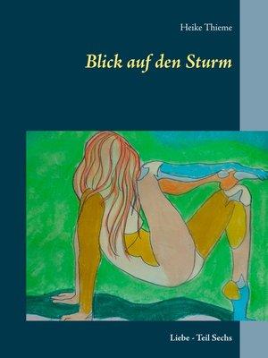 cover image of Blick auf den Sturm