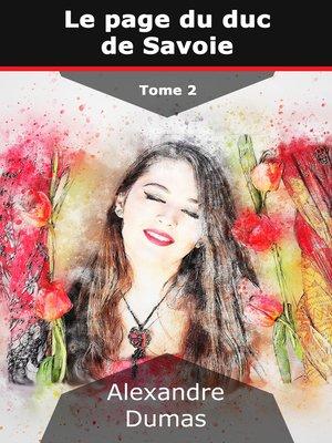 cover image of Le page du duc de Savoie