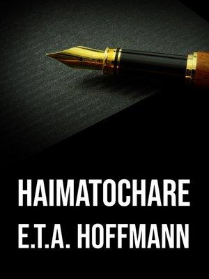 cover image of Haimatochare