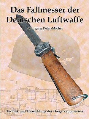cover image of Das Fallmesser der Deutschen Luftwaffe