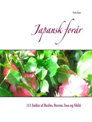 cover image of Japansk forår