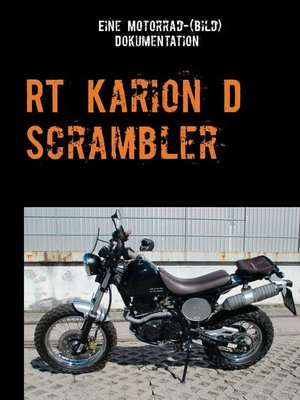 cover image of Hyosung RT Karion D Scrambler