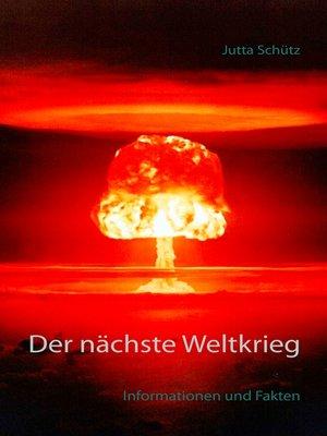 cover image of Der nächste Weltkrieg
