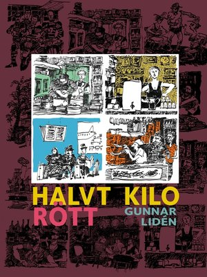 cover image of Halvt kilo rött
