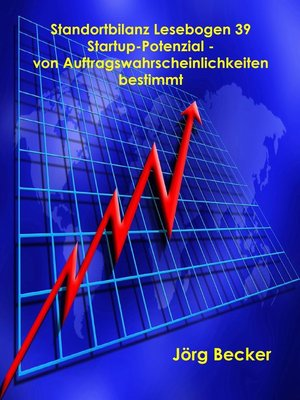 cover image of Standortbilanz Lesebogen 39 Startup-Potenzial--von Auftragswahrscheinlichkeiten bestimmt