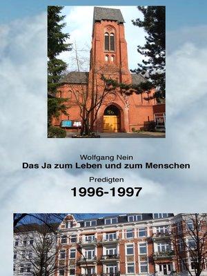 cover image of Das Ja zum Leben und zum Menschen, Band 7