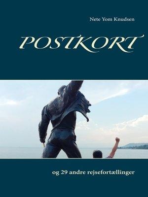 cover image of Postkort