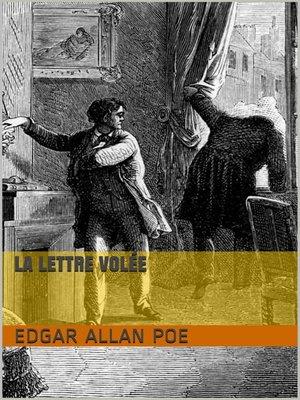 cover image of La Lettre volée