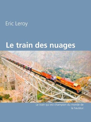 cover image of Le train des nuages