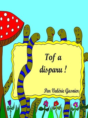 cover image of Tof a disparu !