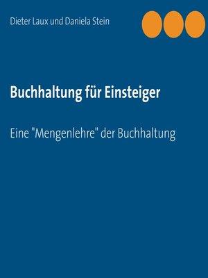 cover image of Buchhaltung für Einsteiger