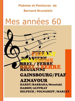 cover image of Mes années 60