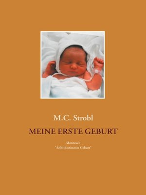 cover image of Meine erste Geburt