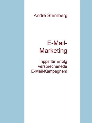 cover image of E-Mail-Marketing TIPPS