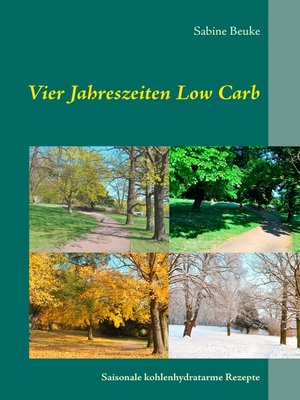 cover image of Vier Jahreszeiten Low Carb