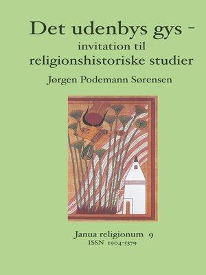 cover image of Det udenbys gys -