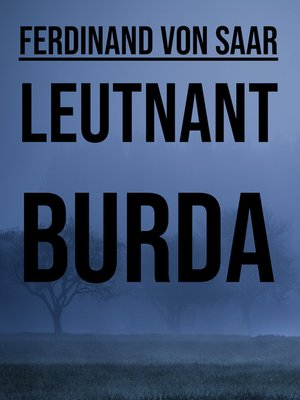 cover image of Leutnant Burda