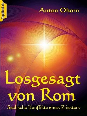 cover image of Losgesagt von Rom