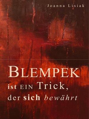 cover image of Blempek ist ein Trick, der sich bewährt