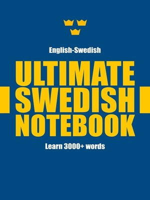 cover image of Ultimate Swedish Notebook