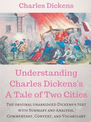 cover image of Understanding  Charles Dickens's a Tale of Two Cities --A study guide
