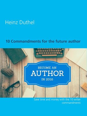 cover image of 10 Commandments for the Future Author
