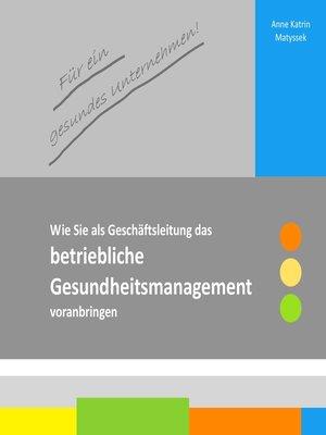 cover image of Für ein gesundes Unternehmen!