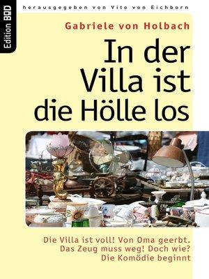 cover image of In der Villa ist die Hölle los