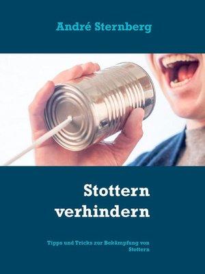 cover image of Stottern verhindern