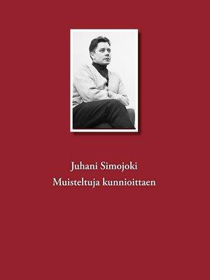 cover image of Muisteltuja kunnioittaen