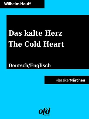 cover image of Das kalte Herz--The Cold Heart