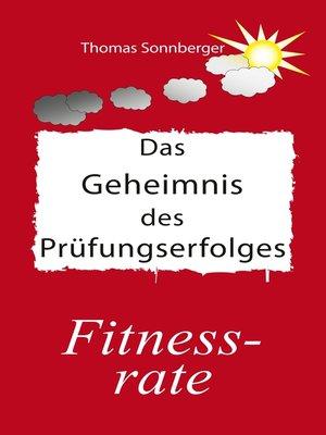 cover image of Das Geheimnis des Prüfungserfolges