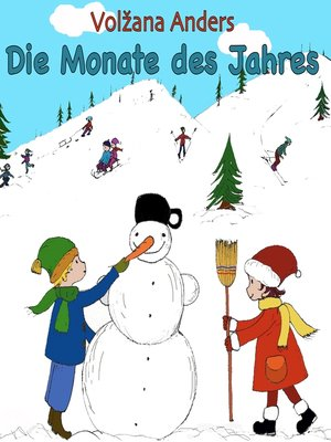 cover image of Die Monate des Jahres