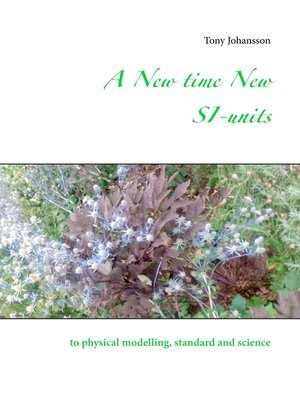 cover image of A New time New SI-units