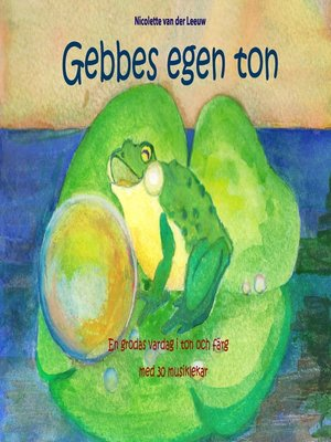 cover image of Gebbes egen ton