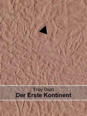 cover image of Der Erste Kontinent