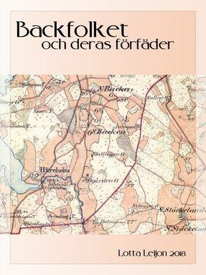 cover image of Backfolket