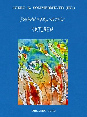 cover image of Johann Karl Wezels Satiren