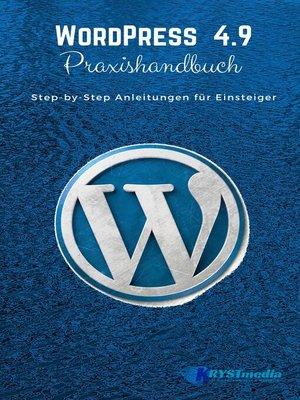 cover image of WordPress 4.9 Praxishandbuch
