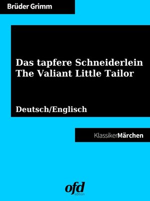 cover image of Das tapfere Schneiderlein--The Valiant Little Tailor