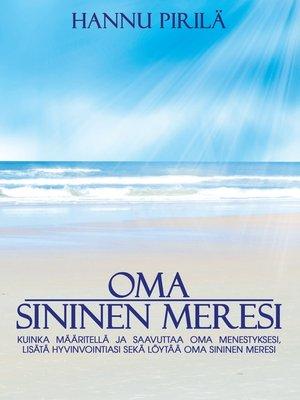 cover image of Oma sininen meresi