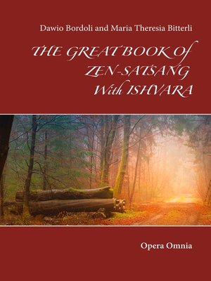 cover image of The great book of Zen-Satsang with Ishvara