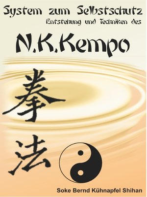 cover image of System zum Selbstschutz N.K. Kempo