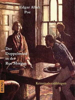 cover image of Der Doppelmord in der Rue Morgue
