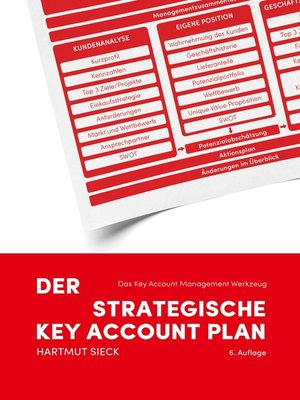 cover image of Der strategische Key Account Plan