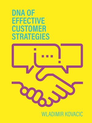cover image of DNA of effective Customer Strategies