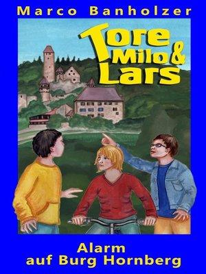 cover image of Tore, Milo & Lars--Alarm auf Burg Hornberg