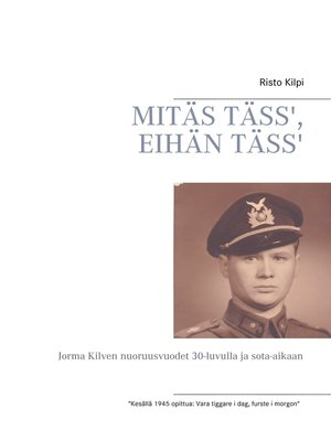 cover image of Mitäs täss', eihän täss'