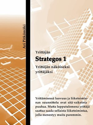 cover image of Strategos 1